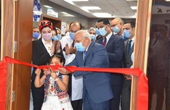 محافظ بورسعيد يفتتح وحدة الغسيل الكلوي للأطفال بمستشفى النصر | صور