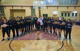 تأهل مدينة نصر والغابة إلى الدوري الممتاز لسيدات كرة السلة | صور