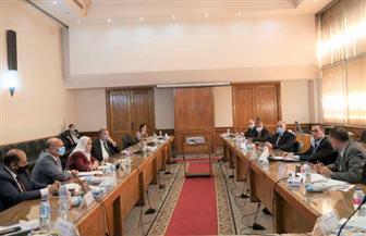وزيرا قطاع الأعمال والري يبحثان سبل التعاون وتذليل العقبات أمام المشروعات المشتركة | صور