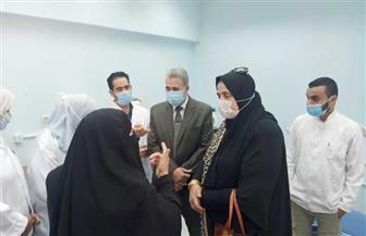 وكيلة الصحة بكفر الشيخ تفتتح وحدة الأسنان بالوحدة الصحية بقرية الخبي  صور