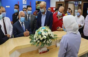افتتاح وحدة الغسيل الكلوي وعلاج أورام الأطفال بمستشفى النصر التخصصي ببورسعيد |صور