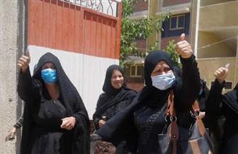 سيدات سوهاج يتصدرن عملية التصويت في انتخابات الإعادة لمجلس الشيوخ | صور
