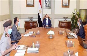 الرئيس السيسي يوجه بتسخير إمكانات الدولة في مجال التكنولوجيا لصياغة منظومة حديثة للبناء العقاري