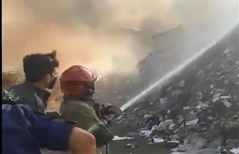 حريق جديد في مرفأ بيروت  فيديو