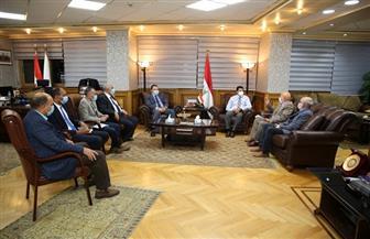 وزير الرياضة يلتقي برئيس اتحاد الكاراتيه لبحث استضافة مصر للبطولة الإفريقية