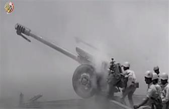 القوات المسلحة تحتفل بعيد المدفعية الرابع على مستوى جيوش العالم   فيديو