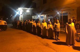 استمرار التصويت في 10 لجان بكفر الشيخ بعد إغلاق أبوابها من الخارج | صور