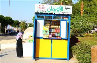 تسليم 547 كشكا للأسر الأولى بالرعاية في قرى الغربية| صور