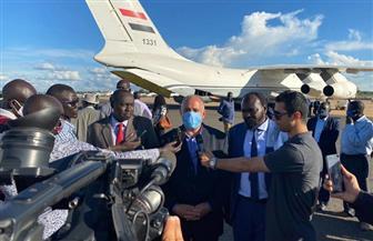 وزير الري يصل جنوب السودان في زيارة رسمية تستغرق 3 أيام | صور