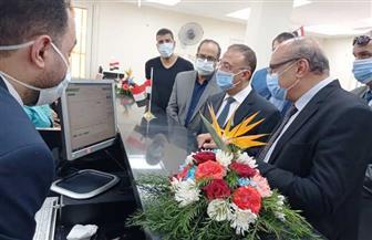 تقدم خدماتها إلكترونيا.. محافظ الإسكندرية يفتتح سابع مراكز الخدمات المطورة التابعة للتموين | صور