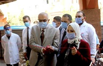 وزير التعليم العالي يفتتح مجمع العنايات المركزة بجامعة المنصورة| صور