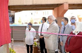 افتتاح مجمع العنايات المركزة بجامعة المنصورة بتكلفة 52 مليونا جنيه | صور