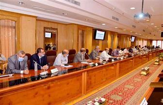 محافظ أسيوط يترأس اجتماع مجلس إدارة المناطق الصناعية والمستثمرين | صور
