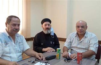 قيادات بيت العائلة المصرية بكفر الشيخ يدلون بأصواتهم في انتخابات الشيوخ | صور