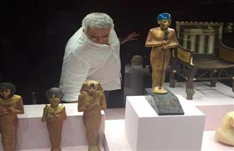 الآثار تستعد لافتتاح معرض الملك توت عنخ آمون المؤقت بالغردقة