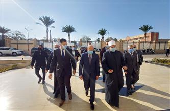 محافظ بورسعيد يستقبل وزير الأوقاف للمشاركة باحتفالات المحافظة بعيدها القومي صور