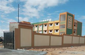 إنشاء مدرسة وتنفيذ ١٨ خزانا لتجميع مياه الأمطار بقرى مطروح| صور