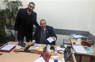 جمارك مطار القاهرة تضبط محاولة تهريب كمية من النقد الأجنبي  صورة