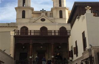 إعلاميو جنوب السودان يضيئون الشموع بالكنيسة المعلقة بمصر القديمة في أول أيام العام الجديد