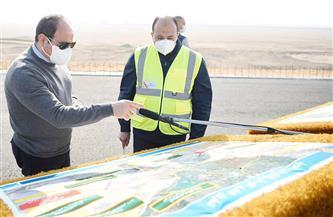 الرئيس السيسي بعد تفقده «الدائري الأوسطي»: أسعدني ما رأيته من إنجاز للأيادي العاملة وتفانيها