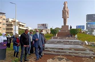 محافظ القاهرة يتفقد تطوير 8 كم في محور صلاح سالم