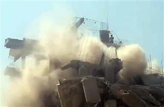 إزالة 4 عقارات خطرة في الخليفة.. وتسكين 14 أسرة بالأسمرات