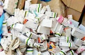 ضبط 46 ألف قرص دواء مجهول و12 طن أسمدة و22 ألف لتر جلسرين في حملات تموينية