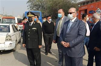 محافظ القاهرة يحرر محضرا ضد محصل هيئة نقل عام لعدم ارتداء الكمامة