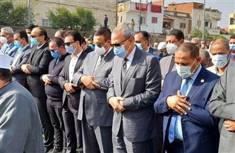 تشييع جثمان وكيل وزارة الصحة بالقليوبية بمسقط رأسه فى أبو حمص | صور