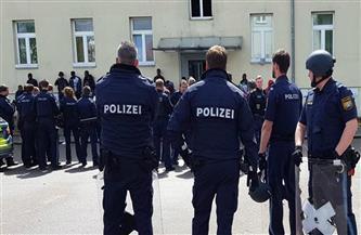 الشرطة الألمانية تنتشر لمنع احتجاجات ضد تعديل قانون الحماية من العدوى في ألمانيا