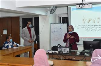 دورات تدريبية لتعلم لغة الإشارة لخدمة الفئات الخاصة بجامعة سوهاج | صور