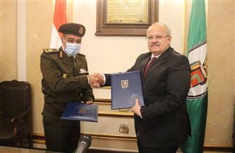 القوات المسلحة توقع بروتوكول تعاون مع جامعة القاهرة في مجال تطوير البحث العلمي