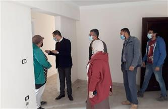 نائب محافظ بورسعيد يطالب الشركة المنفذة لمشروع الإسكان الاجتماعي إنهاء الأعمال المتبقية | صور