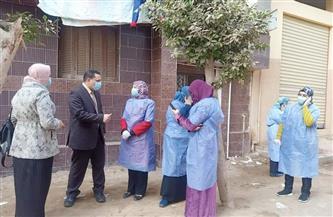 انطلاق مبادرة الرئيس لمتابعة حالات العزل المنزلي لمرضى «كورونا» في المنوفية | صور
