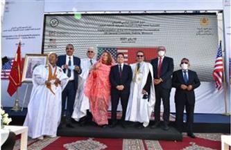 وفد أمريكي رفيع المستوى يزور مقر القنصلية العامة الأمريكية المرتقبة بالداخلة في المغرب