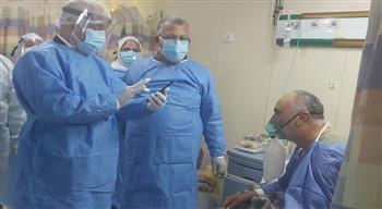 وكيل الصحة بالغربية يتفقد مستشفى العزل بكفر الزيات لمتابعة سلامة شبكات الأكسجين| صور