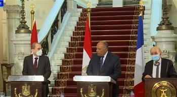 شكري: موقف مصر ثابت لم يتغير بإقامة دولة فلسطينية مستقلة على حدود 1967