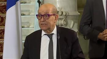 وزير خارجية فرنسا: يجب على إسرائيل احترام الاتفاقيات المبرمة في الماضي