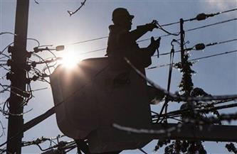 قطع الكهرباء عن مساكن جديلة في المنصورة نتيجة سقوط سلك