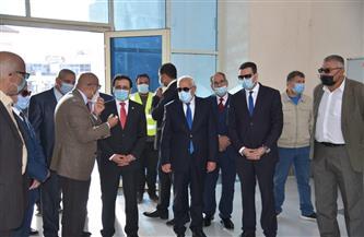 وفد المنظمة العربية للتنمية الإدارية ومحافظ بورسعيد يتفقدون أسواق الأسماك|صور