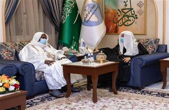 أمين رابطة العالم الإسلامي يستقبل منسق أهل السنة في مالي | صور