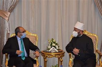 السفير الأفغاني: لولا وجود الجيش المصري لحل الخراب بدول عديدة   صور