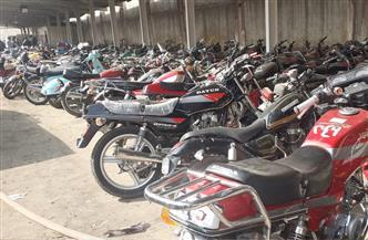 ضبط 4098 دراجة نارية مخالفة خلال أسبوع