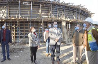 محافظ أسيوط يتفقد أعمال مشروع إحلال وتجديد محطة مياه التشيكي بحي شرق| صور