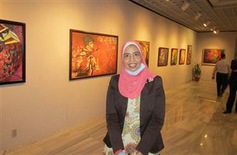 """قطاع الفنون التشكيلية يطرح معرض """"تأملات"""" للفنانة رانيا علام """"أون لاين"""""""