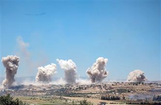 """قصف جوي يستهدف مواقع الحرس الثوري الإيراني بالقرب من الحدود """"السورية - العراقية"""""""