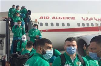 وصول بعثة منتخب الجزائر لليد إلى مطار القاهرة