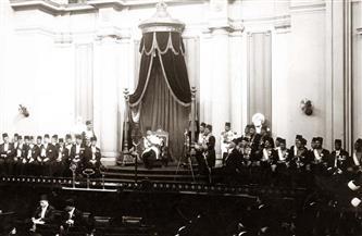 """مجلس النواب من 100 سنة.. """"بوابة الأهرام"""" تنشر مجموعة من الصور النادرة للصرح العريق"""