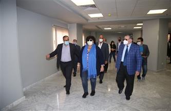إيناس عبدالدايم تتفقد الأعمال الإنشائية في واحة الثقافة بمدينة 6 أكتوبر| صور
