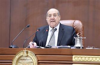 رئيس مجلس الشيوخ يهنئ المستشار حنفي جبالي لانتخابه رئيسًا لمجلس النواب